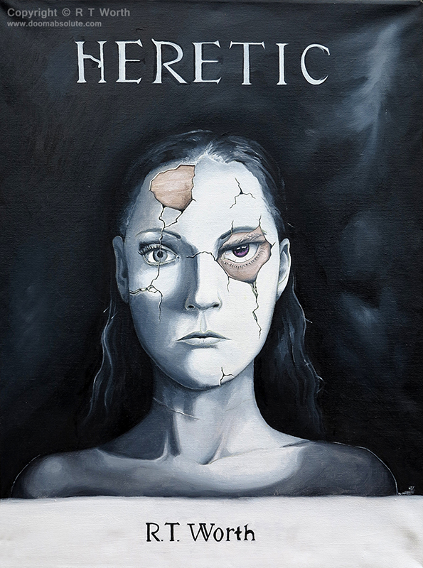 Cover for Heretic by R T Worth